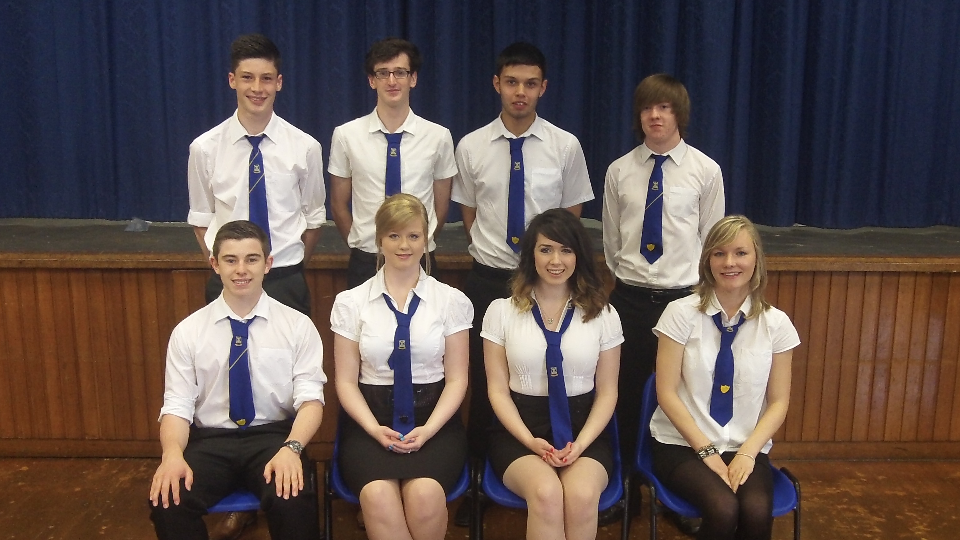Mearns Academy Prefects 2012
